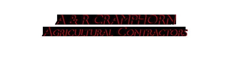 A & R Cramphorn Agricultural Contractors.